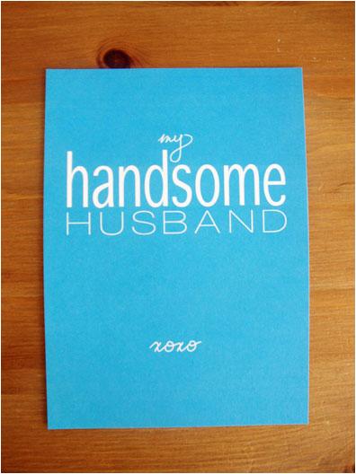 free printable husbands birthday card