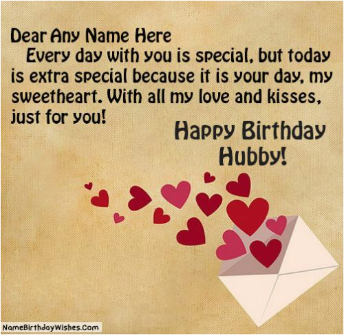 Birthday Cards For Husband With Name Select One Option