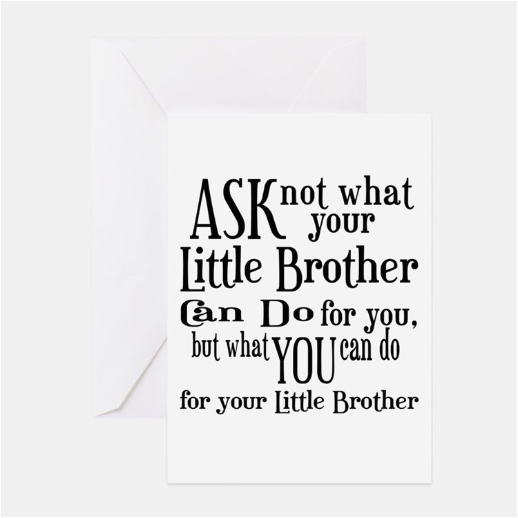 Birthday Cards For Little Brother Greeting Card Ideas Sayings