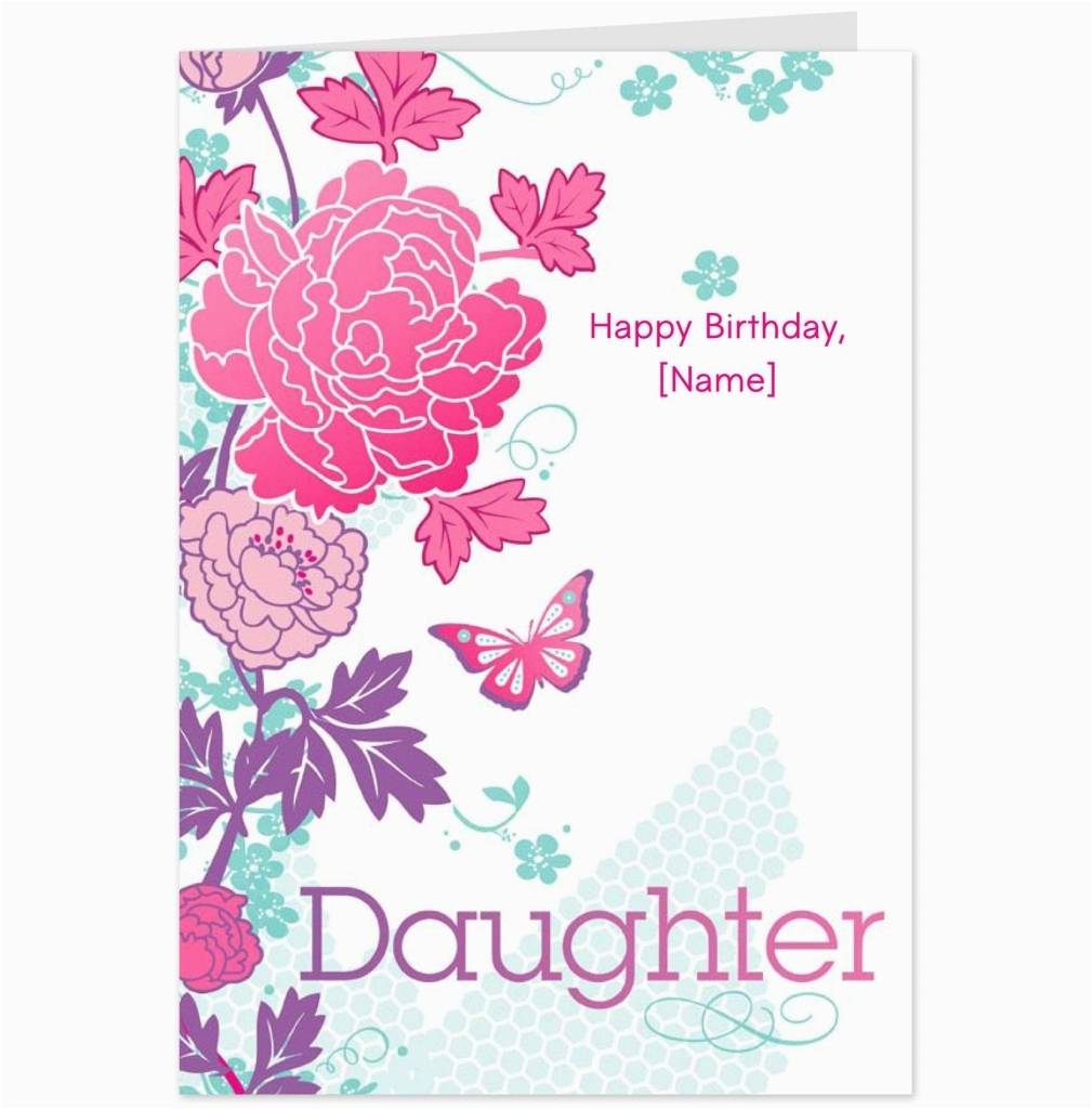 Birthday Cards For Moms From Daughter Free Daughters Card Design Ideas