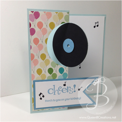 Birthday Cards for Music Lovers Happy Birthday Music Lover Queen B Creations