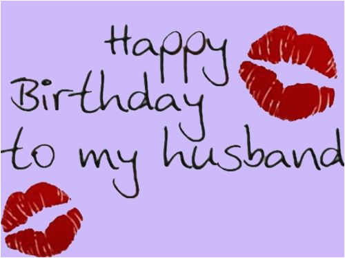 Happy Birthday Husband Wishes For