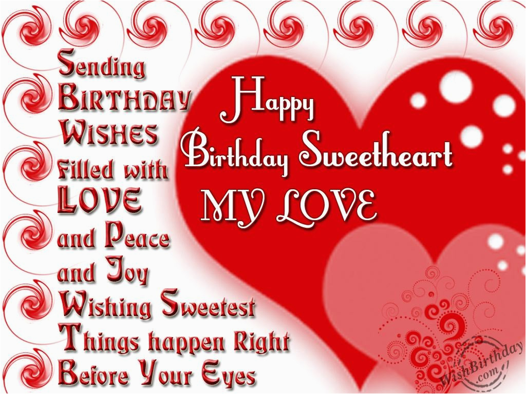 Birthday Cards For My Sweetheart Picture 7