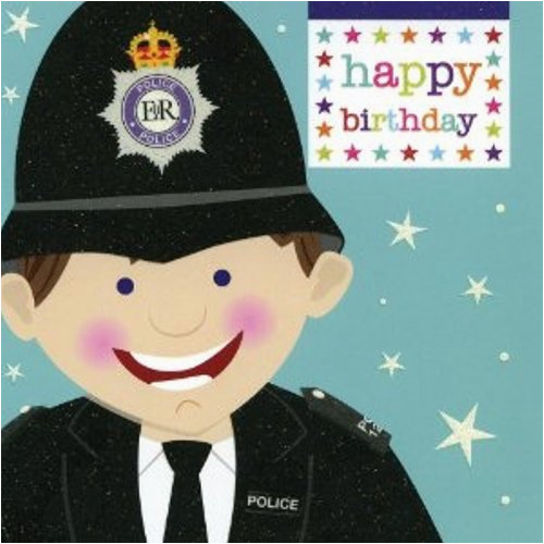 birthday wishes for police