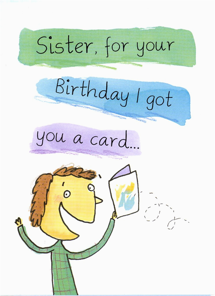 2709 285 retail each birthday sister funny pkd 6 p 237