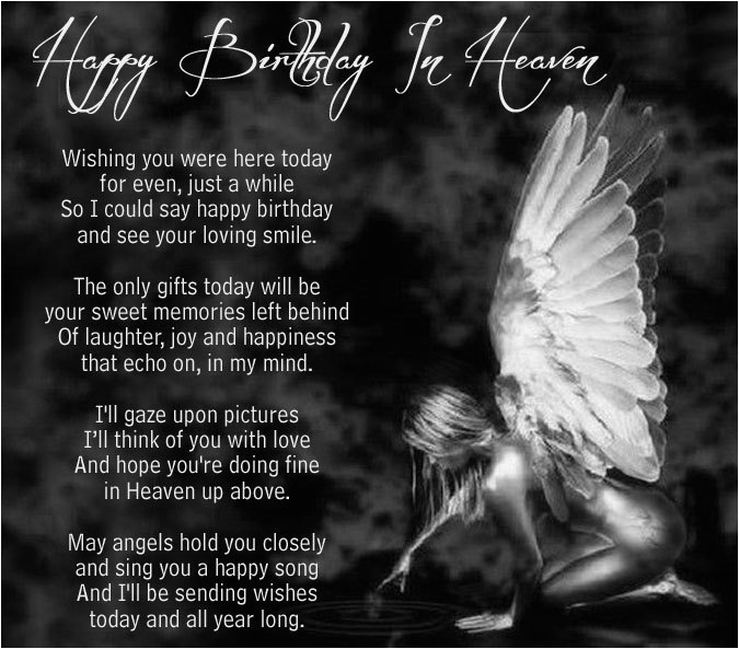 Birthday Cards For Someone In Heaven Happy Wishes Quotes Images