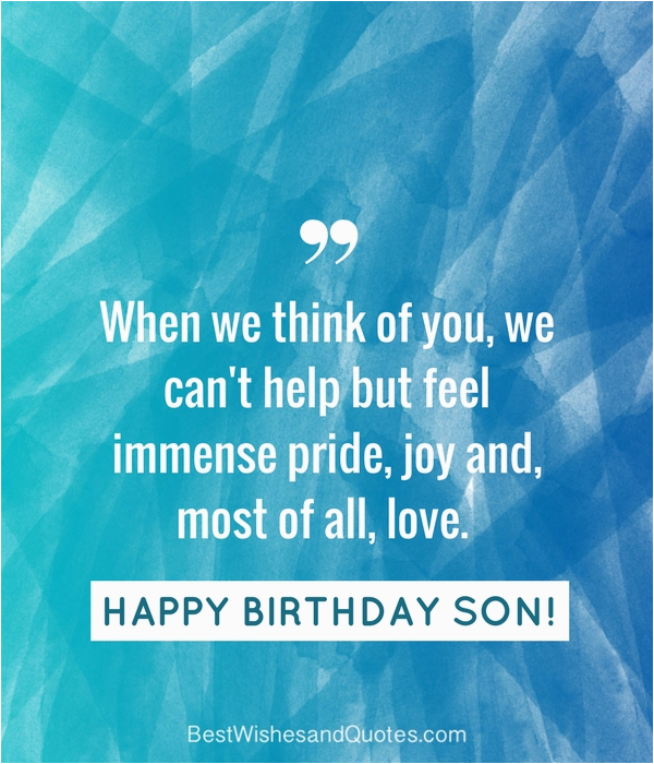 35 unique and amazing ways to say quot happy birthday son quot