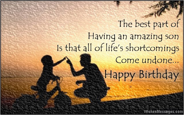 birthday wishes for son quotes and messages