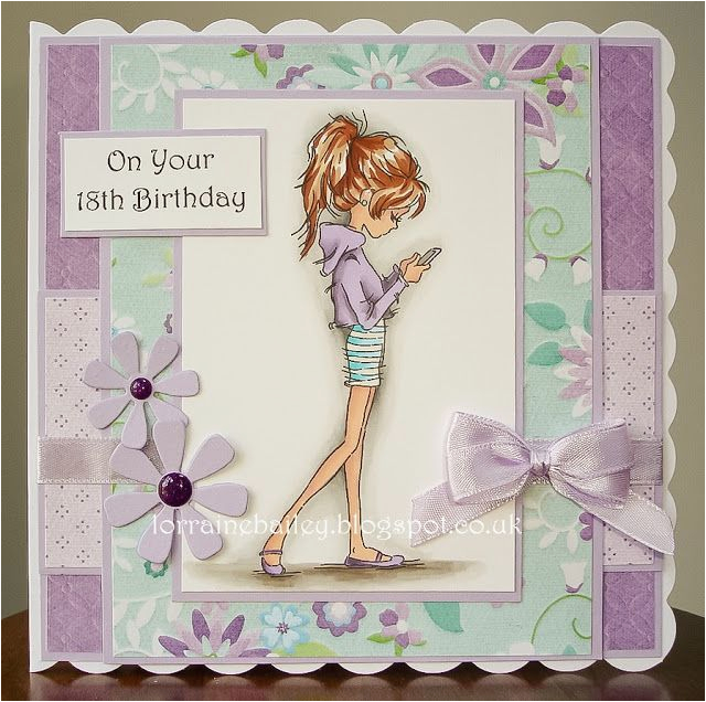 handmade birthday card from mrs b 39 s blog teen card