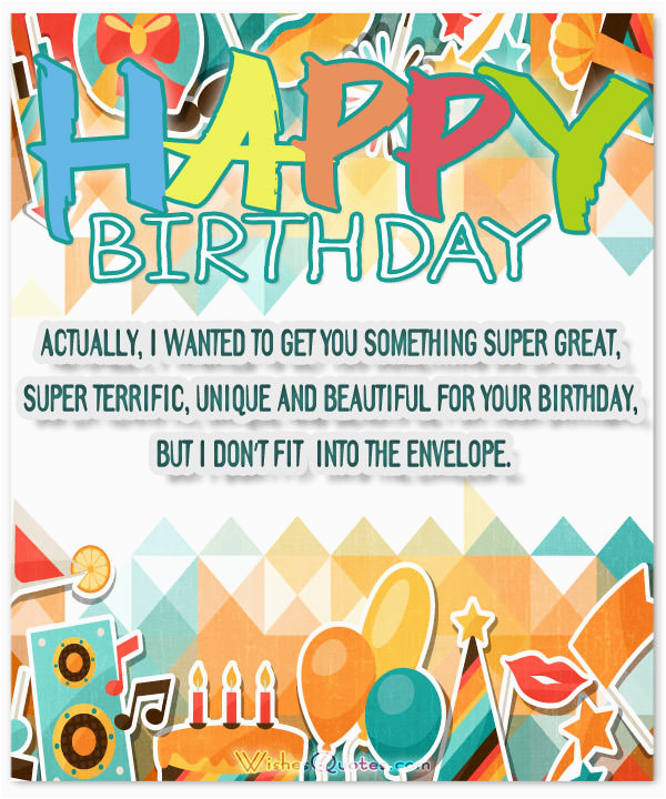 Funny Birthday Wishes And Messages