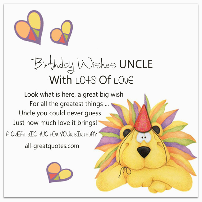 Birthday Cards For Uncle From Niece Download Free Wishes The