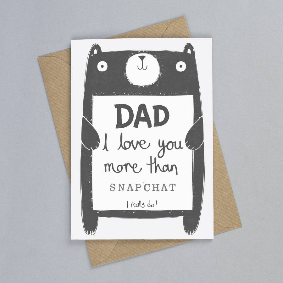 personalised daddy birthday card by tandem green