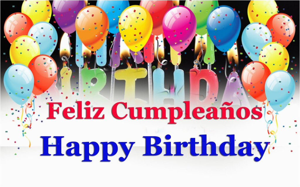 say happy birthday wishes in spanish song