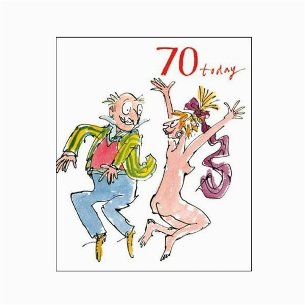 Birthday Cards Next Day Delivery Uk 70th Unisex Card Quentin Blake Same