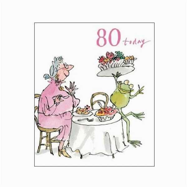 birthday feast 80th birthday card quentin blake same