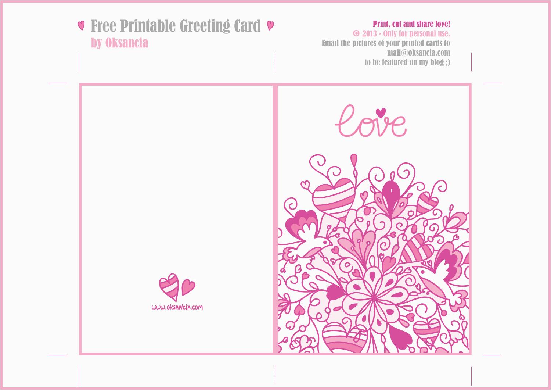8 best images of printable cards free printable kid