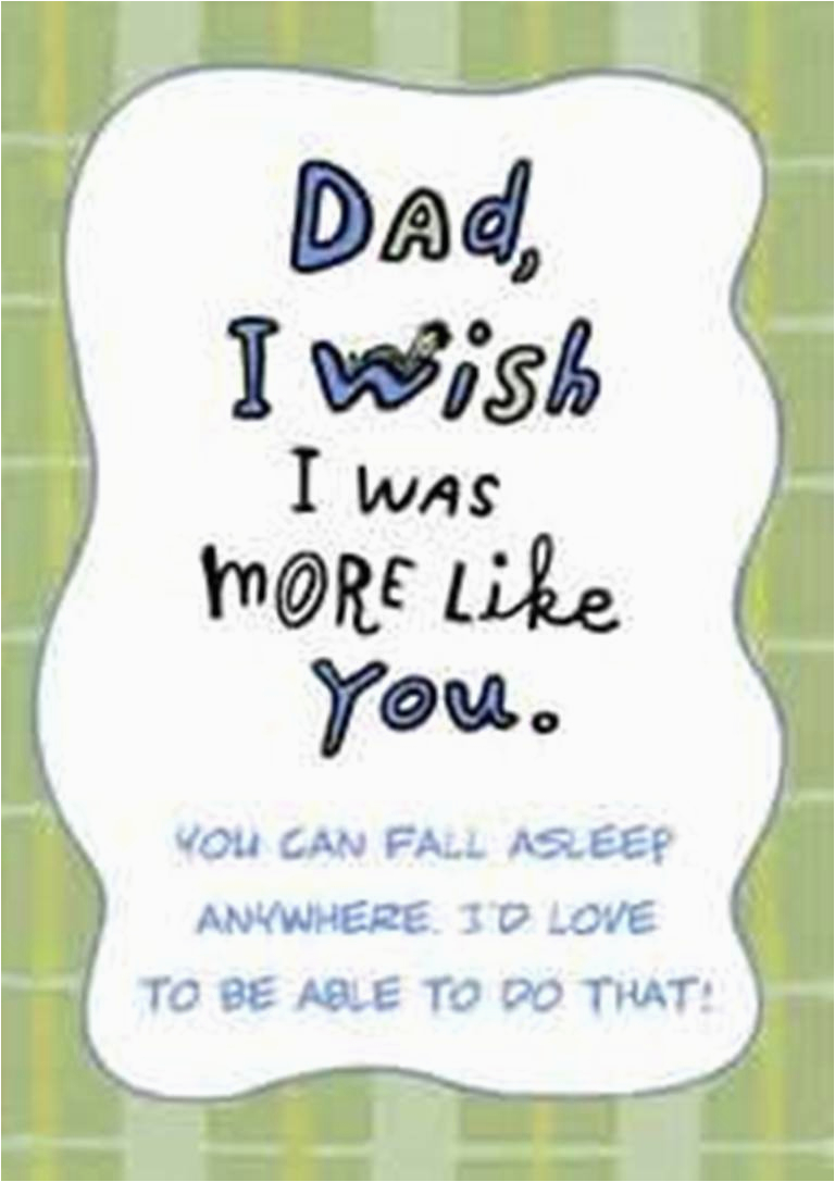 Birthday Cards To Dad From Daughter Printable Quotes For Dads Quotesgram