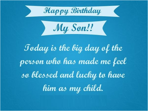 Birthday Cards to My son Happy Birthday son Quotes Images Pictures Messages
