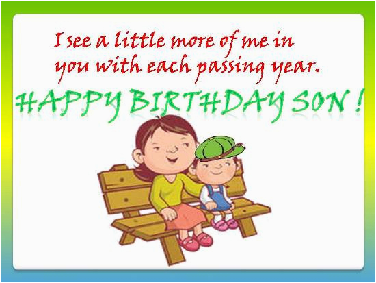 birthday greetings for son quotes