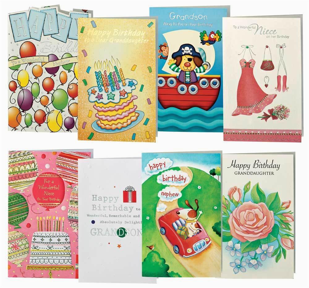 children 39 s birthday cards value pack of 24 ebay