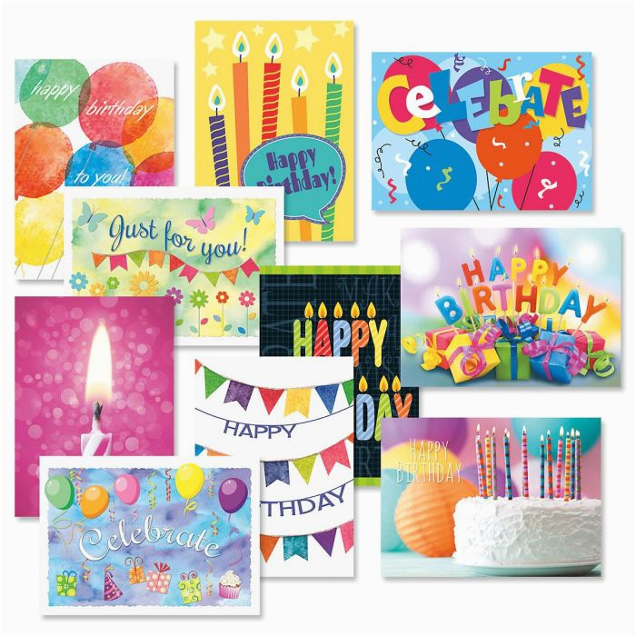 graphic birthday cards value pack current catalog