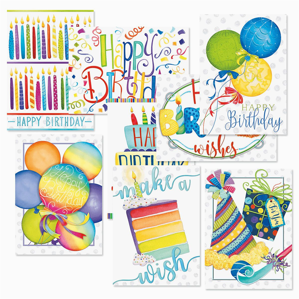 make a wish birthday greeting cards value pack current