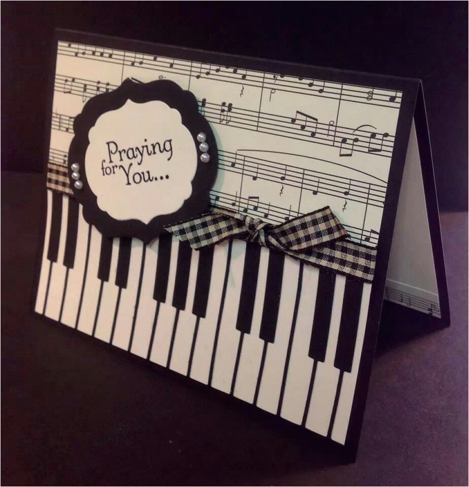 Birthday Cards With A Piano Theme Pin By Waneeta Loomis On And Craft Ideas Pinterest
