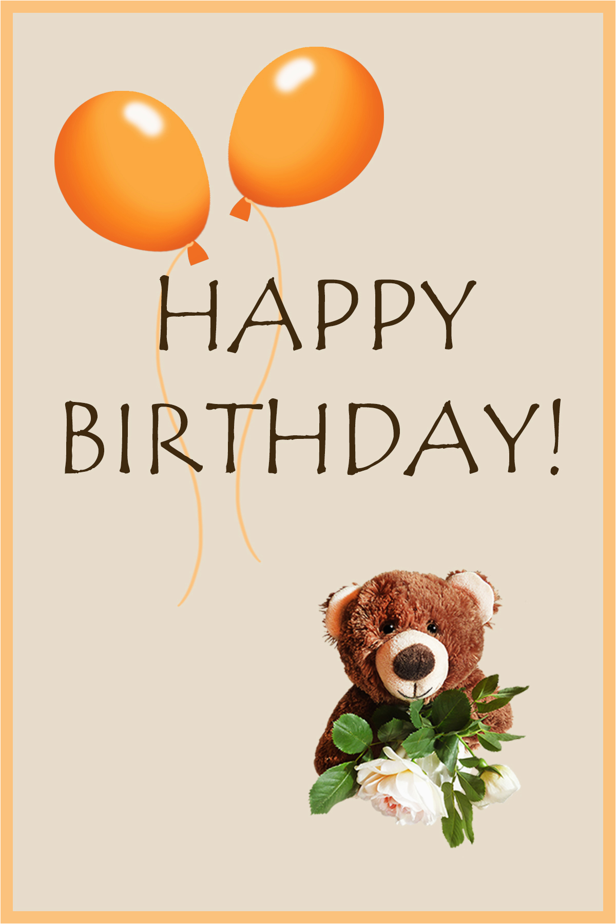 Birthday Cards with Bears Printable Happy 2nd Birthday Card Birthday Party Ideas