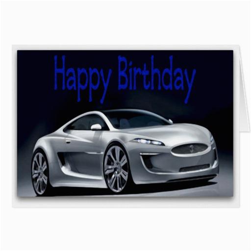 cool sports car birthday card 137793653932753388