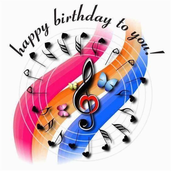 song note happy birthday