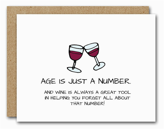 funny birthday card wine lover card instant download friend