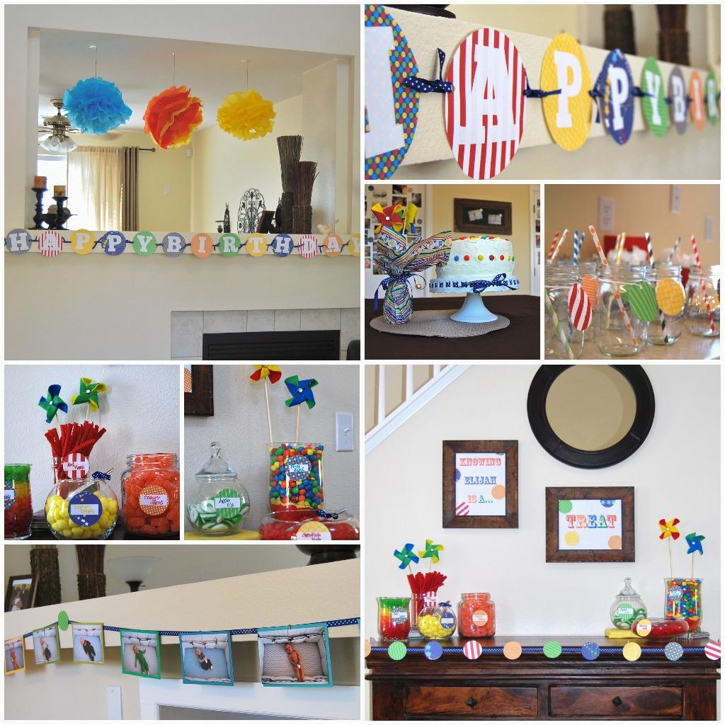 elijahs first birthday a colorful celebration
