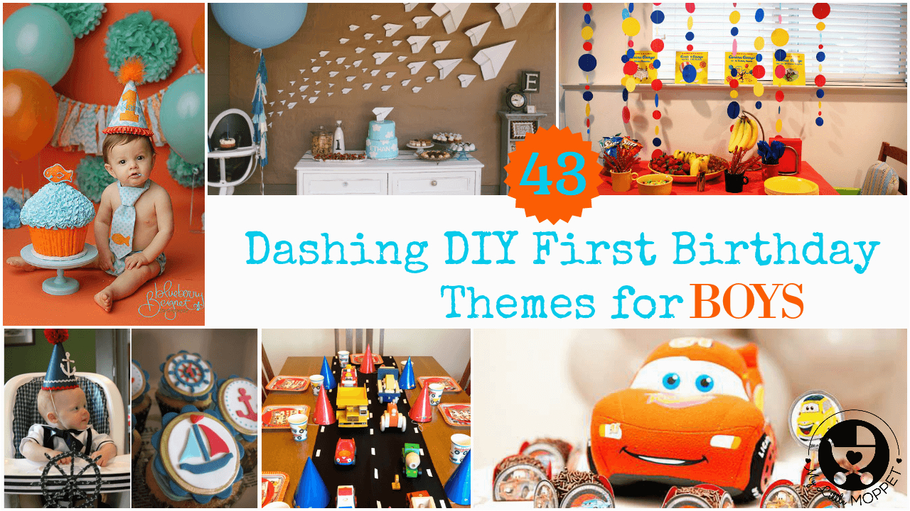 boy first birthday themes and ideas