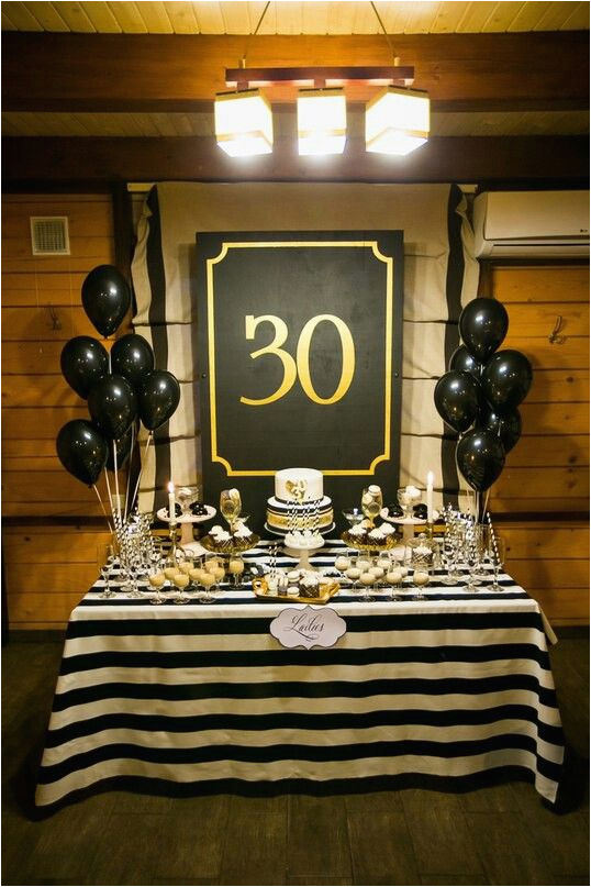 Birthday Decorations For Mens 30th 23 Cute Glam Party Ideas Girls Shelterness