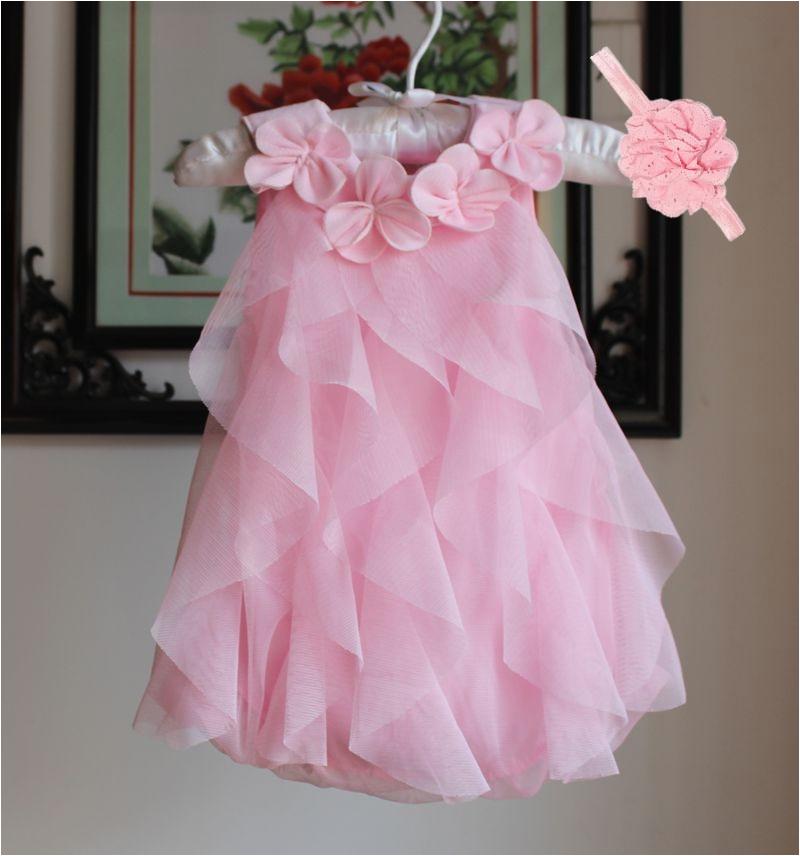 girls dress 2017 summer chiffon party dress infant 1 year