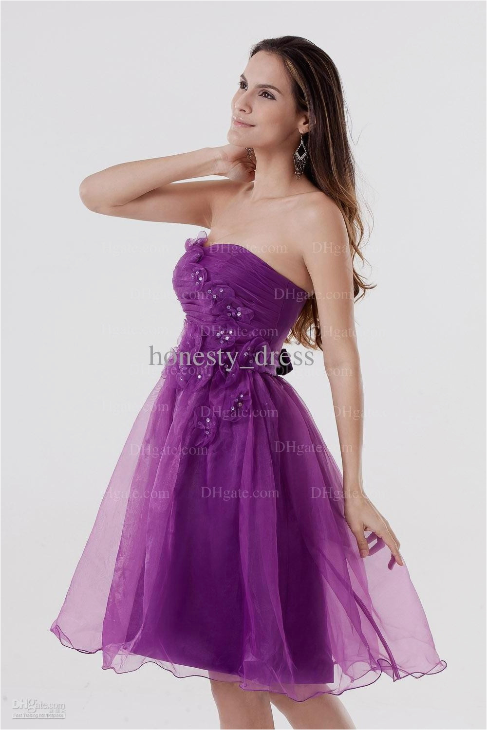 purple party dresses for teenagers naf dresses