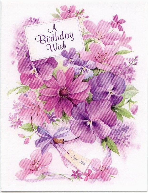130 best happy birthday flower images on pinterest happy