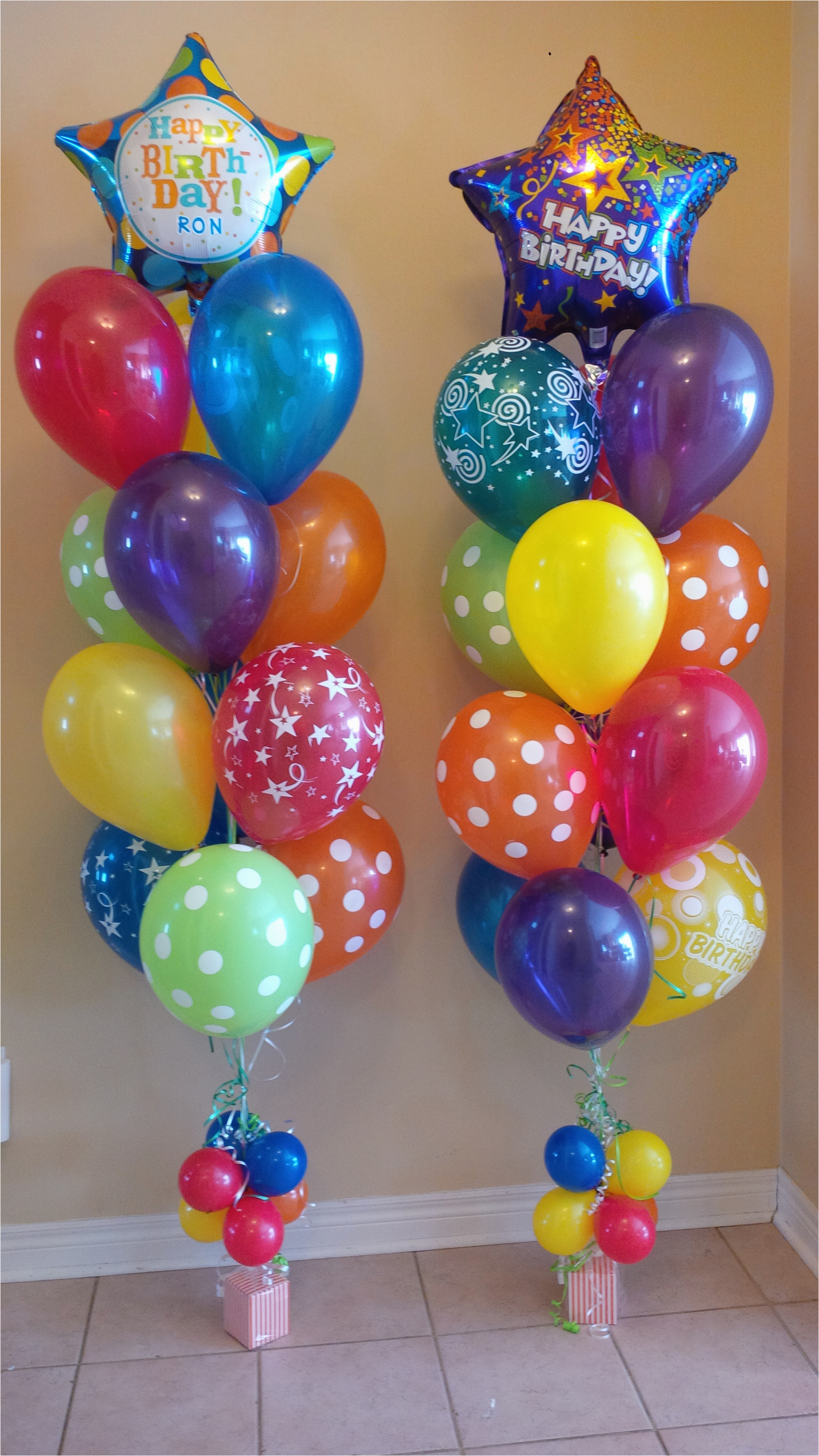 Birthday Flowers And Balloons Delivered Balloon Bouquet Gifts Delivery Toronto Call 416 224