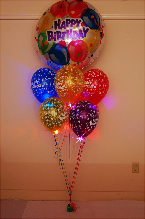 Birthday Flowers And Balloons Delivered Balloon Zilla Pic Bouquets