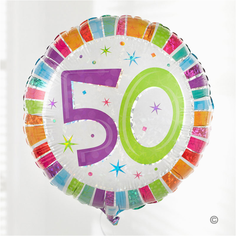 Birthday Flowers And Balloons Delivered Uk Gift Delivery 50th Balloon Bouquet Isle Of
