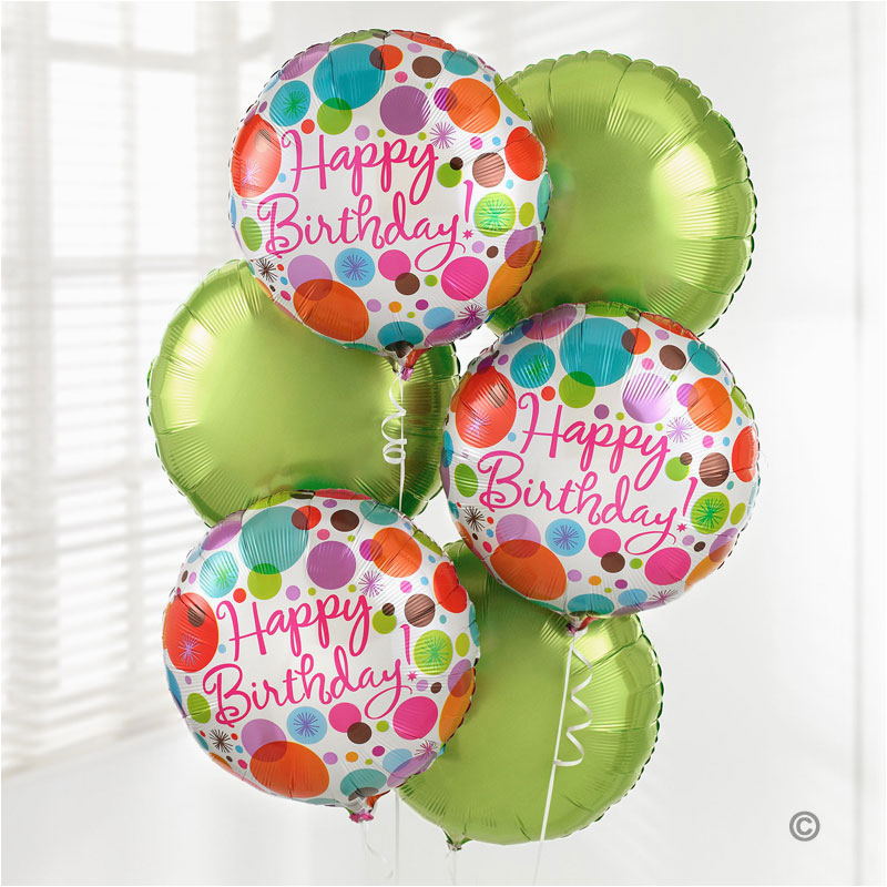 Birthday Flowers And Balloons Delivery Uk Gift Happy Balloon Bouquet Isle