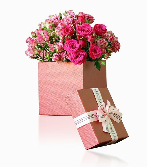 Birthday Flowers In A Gift Box Shop Online Same Day
