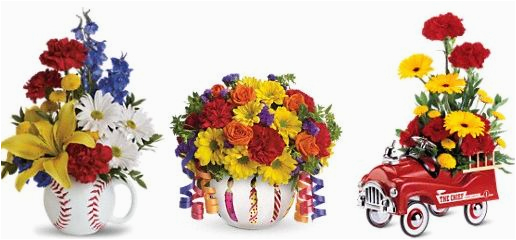 Birthday Flowers For Men Say Happy With From Teleflora 75 Gift