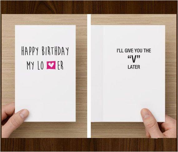 Birthday Gift Card Ideas For Him Funny Boyfriend First
