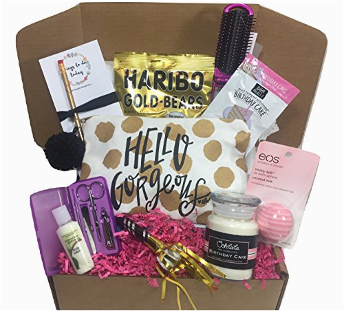 Birthday Gift Packages For Her Bath Bomb Set Spa Basket Box Women