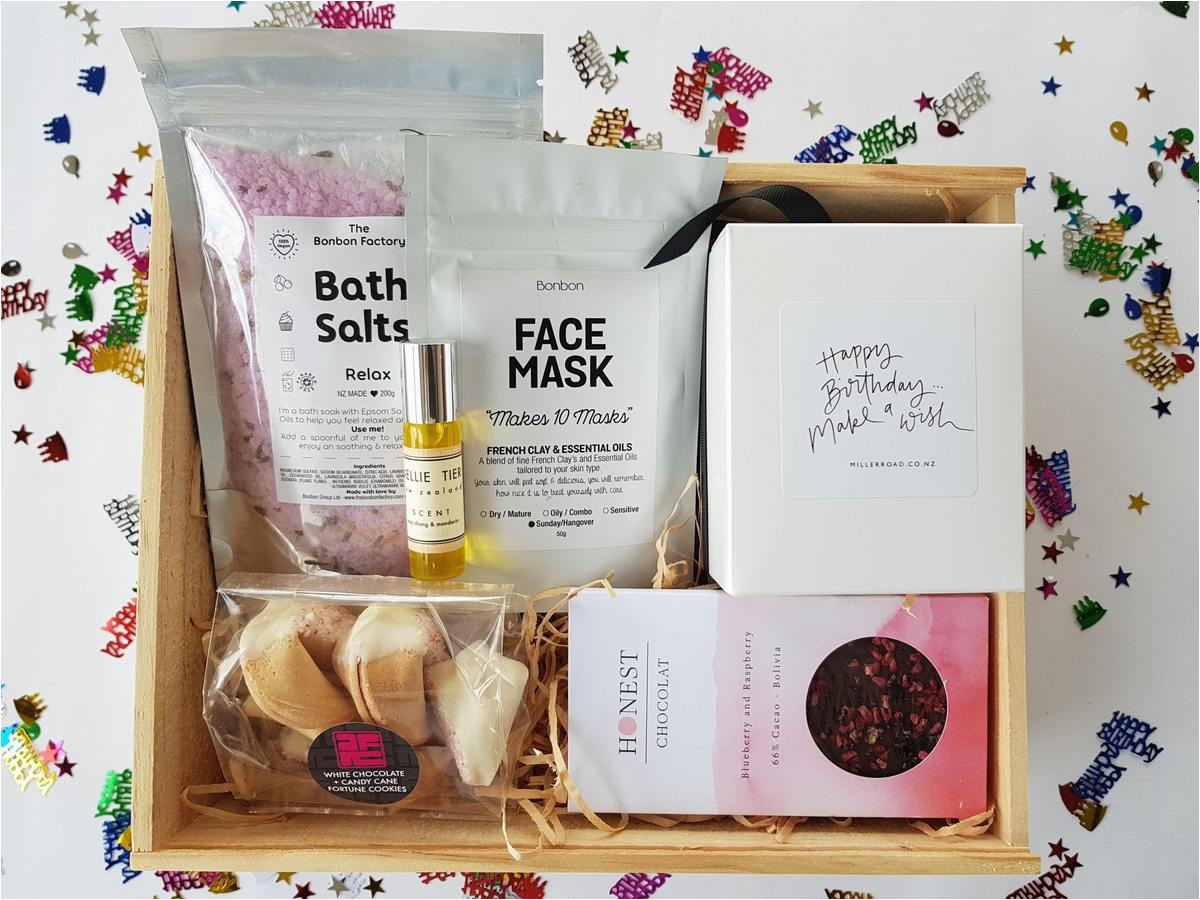 happy birthday gift box for her nz gifts online easy nz