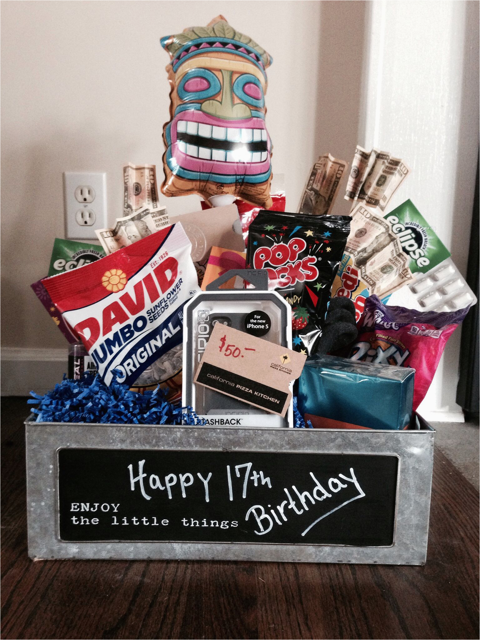 Birthday Gifts for Her 17th 17th Birthday Gift Lots Of Local Gift Cards Gifts