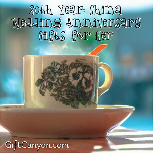 20th year china wedding anniversary gifts for her gift