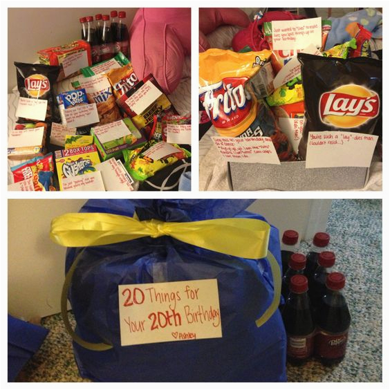 my gift to my brother for his 20th birthday quot 20 things