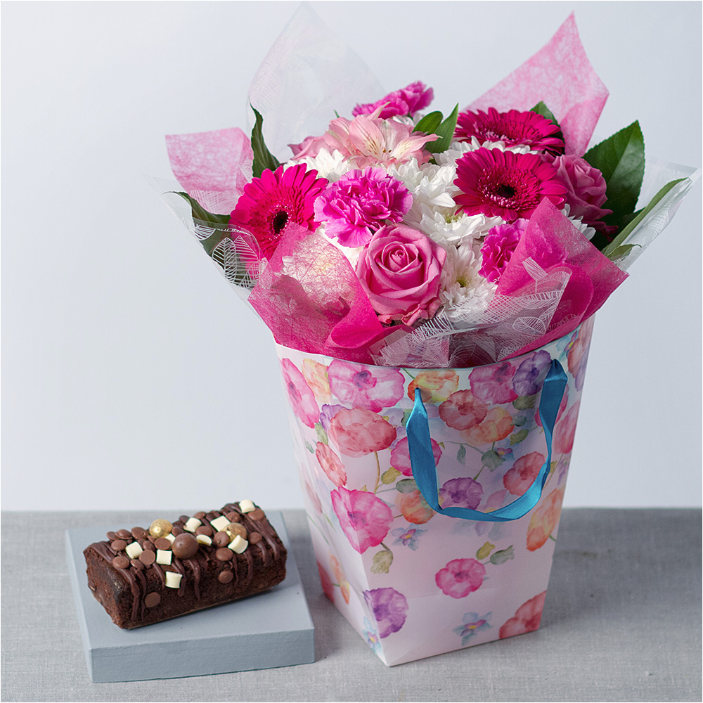 Birthday Gifts For Her Delivered Flowers Say Happy With